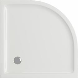 CERSANIT - Sprchová vanička TAKO 90x4, čtvrtkruh CW (S204-002), fotografie 4/2