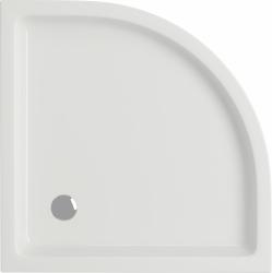 CERSANIT - Sprchová vanička TAKO 80x16, čtvrtkruh, BUILT-IN-PANEL CW (S204-003), fotografie 4/2