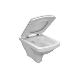 CERSANIT - ZÁVĚSNÁ MÍSA EASY NEW CLEANON BOX (K102-026), fotografie 4/4