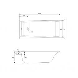 CERSANIT - VANA VIRGO 150X75 cm (S301-048), fotografie 8/10
