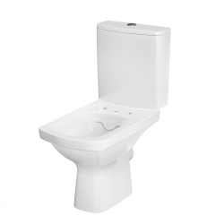 CERSANIT - WC KOMBI 606 EASY NEW CLEANON 011 3/5 BEZ SEDÁTKA BOX  (K102-030), fotografie 14/8