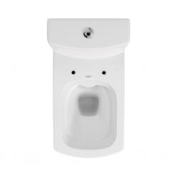 CERSANIT - WC KOMBI 606 EASY NEW CLEANON 011 3/5 BEZ SEDÁTKA BOX  (K102-030), fotografie 12/8