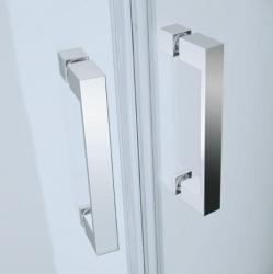 CERSANIT - Sprchový kout BASIC čtvrtkruh 90x185, posuv, čiré sklo (S158-005), fotografie 2/2