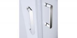 CERSANIT - Sprchový kout čtvrtkruh 80 x190, R55, posuv, čiré sklo (S154-001), fotografie 6/5