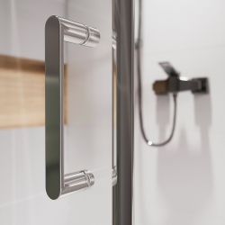 CERSANIT - Sprchový kout obdélník 100x80x190, posuv, čiré sklo (S154-003), fotografie 10/8