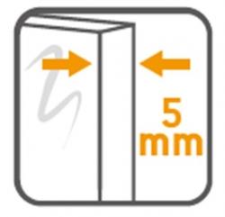 CERSANIT - Sprchový kout obdélník 100x80x190, posuv, čiré sklo (S154-003), fotografie 12/8