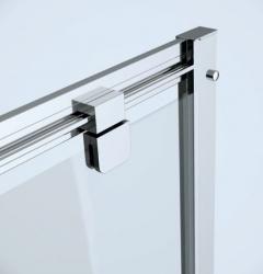 CERSANIT - Sprchové dveře ARTECO 80x190, kyvné, čiré sklo (S157-007), fotografie 4/3
