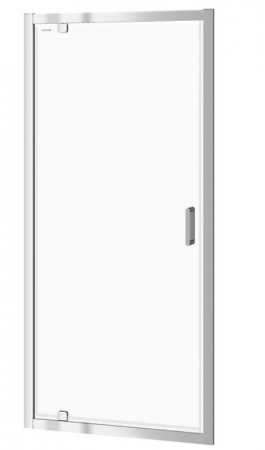 CERSANIT - Sprchové dveře ARTECO 90x190, kyvné, čiré sklo (S157-008)