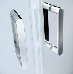 CERSANIT - Sprchové dveře ARTECO 90x190, kyvné, čiré sklo (S157-008), fotografie 2/3