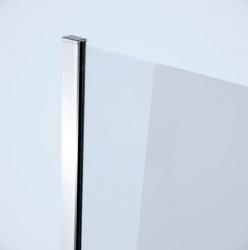 CERSANIT - Sprchový kout MODUO čtvrtkruh 80x195, kyvné, čiré sklo (S162-009), fotografie 14/7