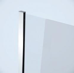 CERSANIT - Sprchová pevná boční stěna MODUO 80x195, čiré sklo (S162-007), fotografie 2/2