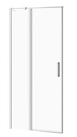 CERSANIT - Kyvné dveře s pevným polem MODUO 90x195, levé, čiré sklo (S162-005)
