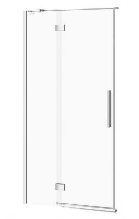 CERSANIT - Sprchové dveře s panty CREA 100x200, levé, čiré sklo (S159-001)