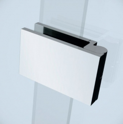 CERSANIT - Sprchové dveře s panty CREA 100x200, levé, čiré sklo (S159-001), fotografie 2/7