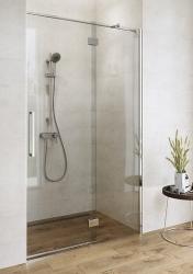 CERSANIT - Sprchové dveře s panty CREA 100x200, levé, čiré sklo (S159-001), fotografie 6/7