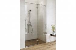 CERSANIT - Sprchové dveře s panty CREA 120x200, levé, čiré sklo (S159-003), fotografie 2/9
