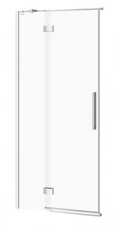 CERSANIT - Sprchové dveře s panty CREA 90x200, levé, čiré sklo (S159-005)