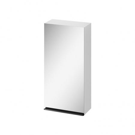 CERSANIT - Zrcadlová skříňka VIRGO 40 bílá s černými úchyty (S522-009)