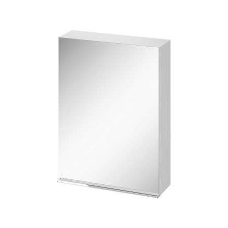 CERSANIT - Zrcadlová skříňka VIRGO 60 bílá s chromovými úchyty (S522-013)