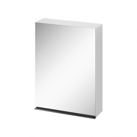 CERSANIT - Zrcadlová skříňka VIRGO 60 bílá s černými úchyty (S522-014)