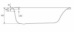 CERSANIT - VANA VIRGO 150X75 cm (S301-048), fotografie 18/10