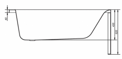 CERSANIT - VANA FLAVIA 140X70 cm (S301-104), fotografie 16/9