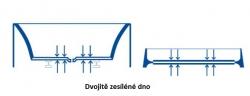 CERSANIT - VANA FLAVIA 140X70 cm (S301-104), fotografie 12/9