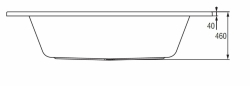 CERSANIT - VANA VENUS 140X140 cm (S301-038), fotografie 16/8